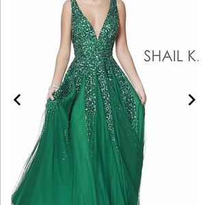 Like-New Shail K Prom Dress!!